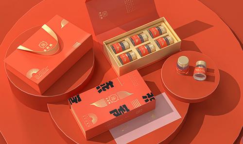 本时燕健康保健燕窝----新中式包装袋外盒设计