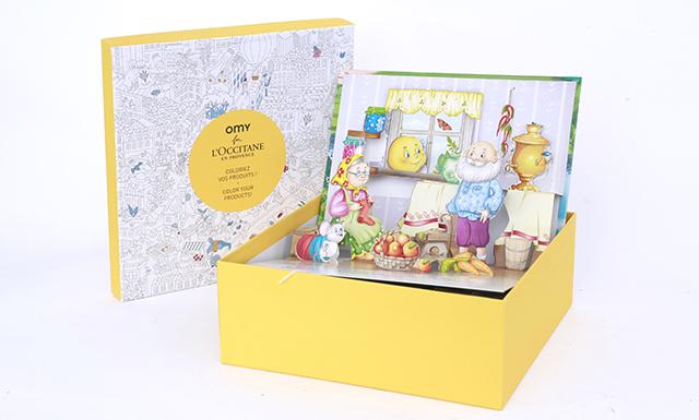 手工三维立体精美图册---儿童教育产品包装设计